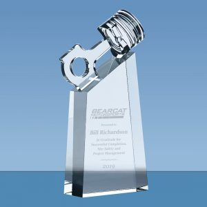 Motorsport Crystal Piston Award