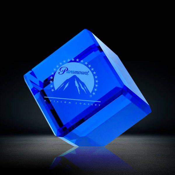 Blue Crystal Cube Award