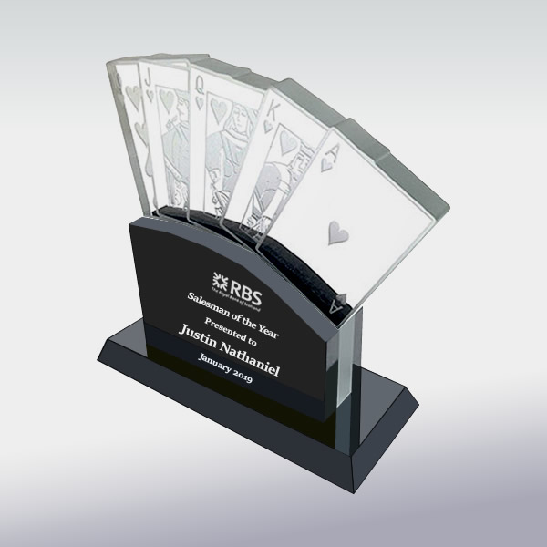 Crystal Casino Cards Award