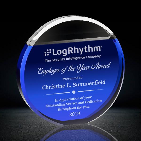 blue crystal circle award