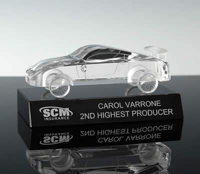 crystal auto show award