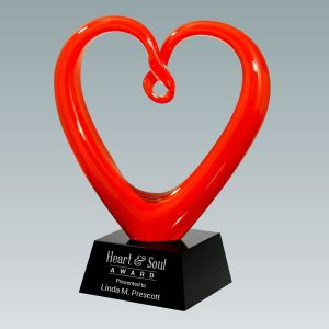 Red Heart Art Glass Award