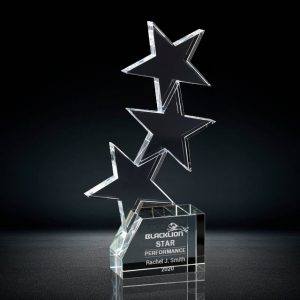 3 star crystal award