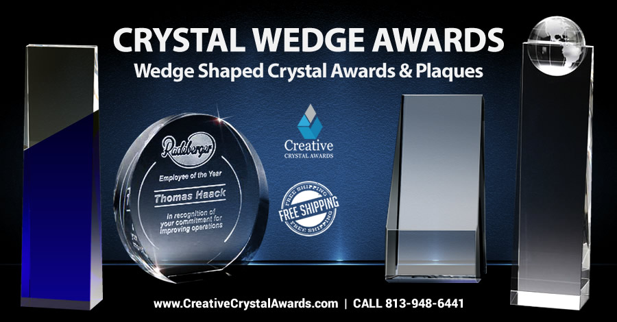 7 Brilliant Ideas of Crystal Wedge Awards