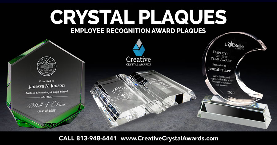 7 Fantastic Ideas of Employee Recognition Crystal Plaques