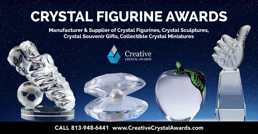 8 Brilliant Crystal Figurine Awards Surely will Impress Everyone