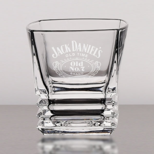square crystal whiskey glasses