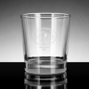 double old fashioned crystal drinking glasses