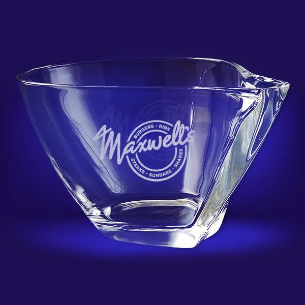 curve crystal bowl