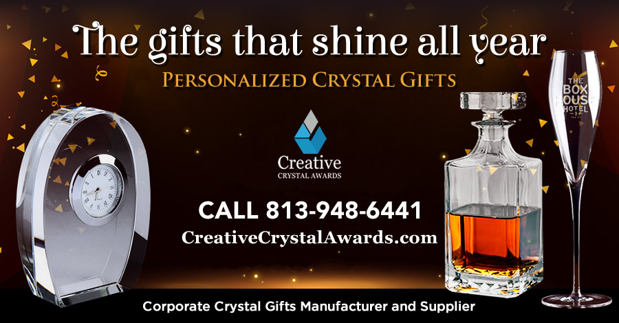 7 Unforgettable Corporate Crystal New Year Gifts for Every Recipients and Every Budget