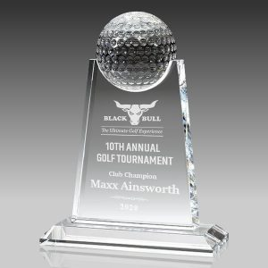 paramount crystal golf award