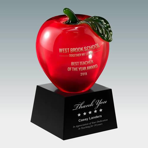 red apple award