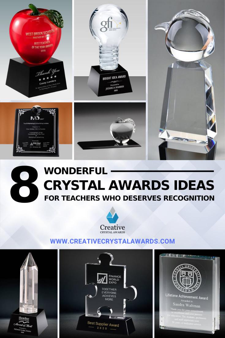 personalized awards for teachers educator awards