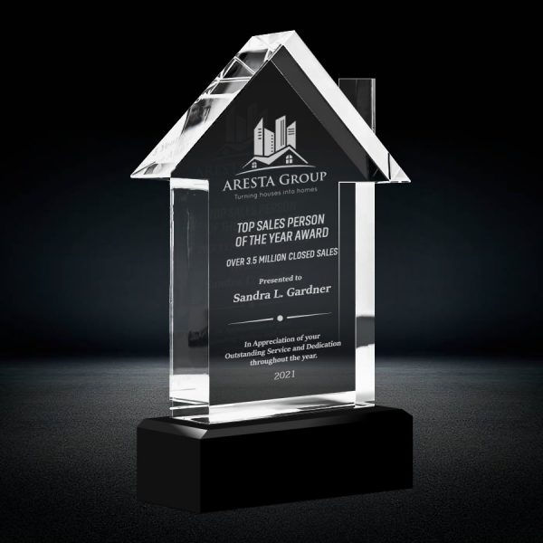 crystal house trophy
