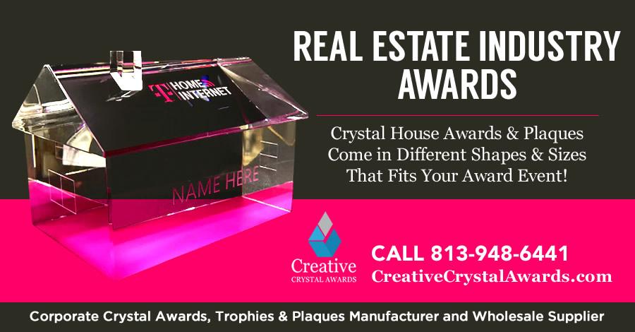 7 Stunning Crystal Real Estate Award Ideas