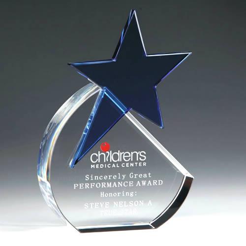 crystal blue star award
