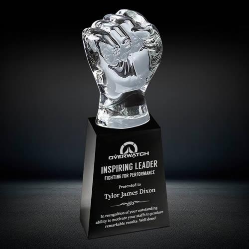 heavy crystal fist award