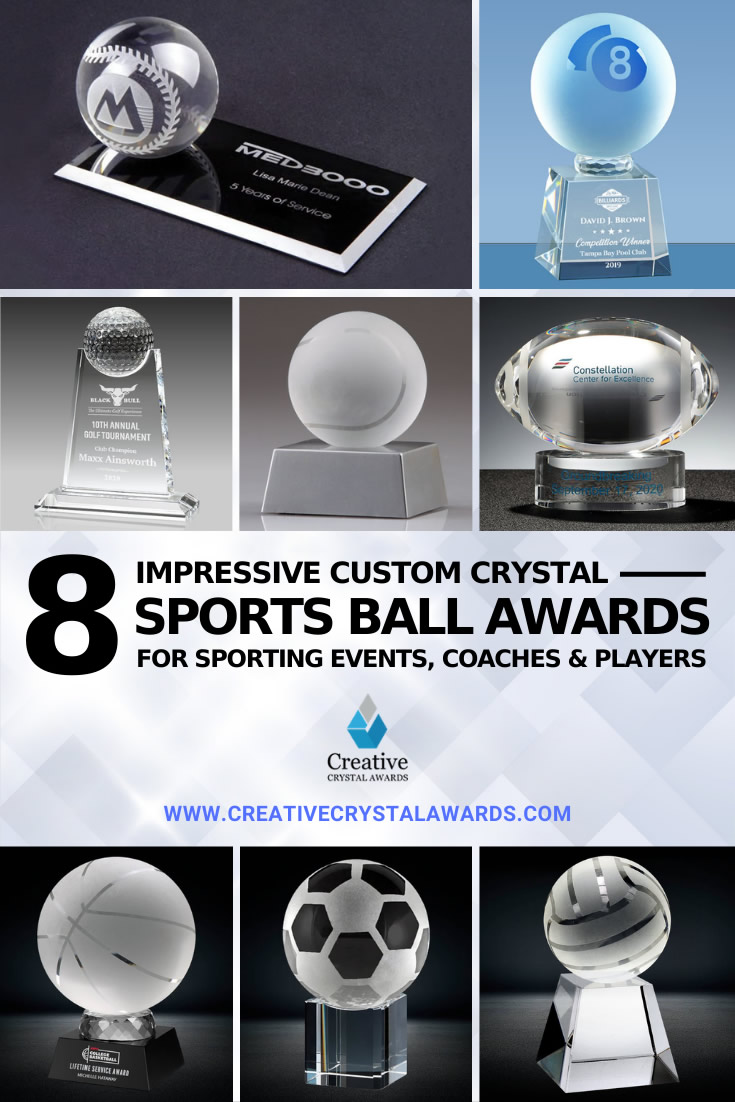 crystal sports ball awards