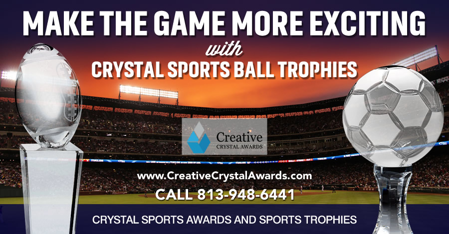 8 Amazing Crystal Sports Ball Trophies for an Exciting Sports Tournaments